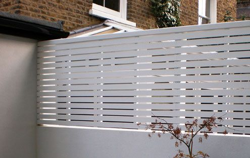 Contemporary Slatted Panels - Slatted Fence Panels - Essex UK, The Garden Trellis Company
