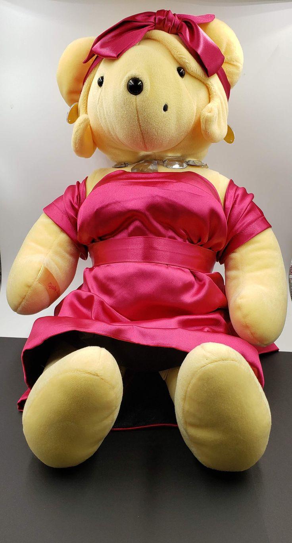 Bearilyn Monroe Teddy Bear VIB Diamonds Are A Girls Best