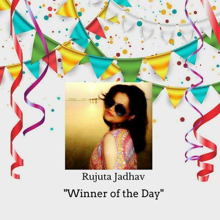 Heartiest Congratulations to Rujuta Jadhav.  #timeforpet #contestalert #contest #timeforcontest #riddle #solveitwinit #bangalore #friday
