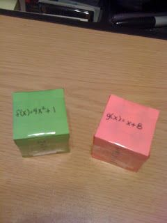 Function Composition Cubes