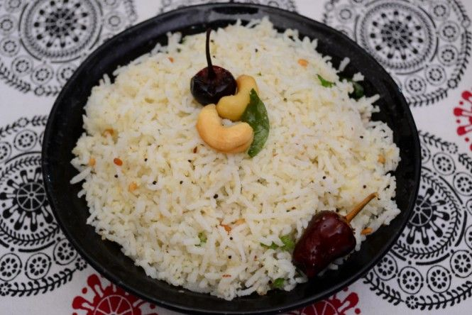 #Recipe of the day: Coconut Rice - A typical dish from South India!