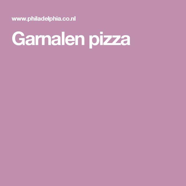 Garnalen pizza