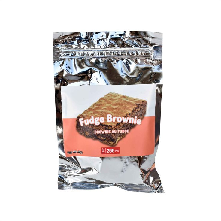 Baked Edibles – 200mg THC Fudge Brownie Classic and delicious.  A huge favourite among customers, these high-strength brownies are chewy, moist and chocolate-y.  Body-balancing, with mentally uplifting effects.  Cannabis Flavour Strength 6.5/10