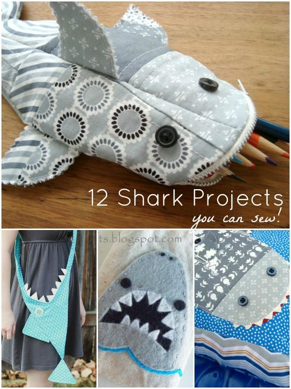 12 shark tutorials you can sew! | patchwork posse | easy sewing projects and free quilt patterns