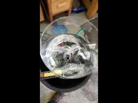Vortex water fountain - YouTube