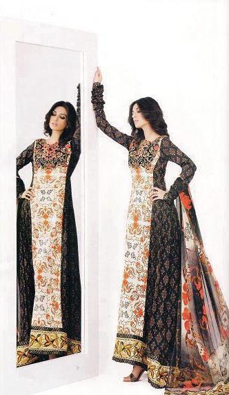 Asim Jofa Premium Lawn Collection 2012 Complete Catalog q