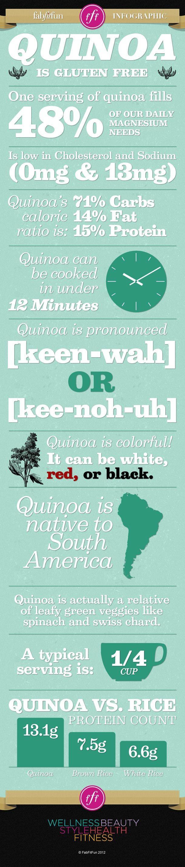 7 Reasons You Should Eat Quinoa I make a huge pot of quinoa (pronounced Keen-wah) e...