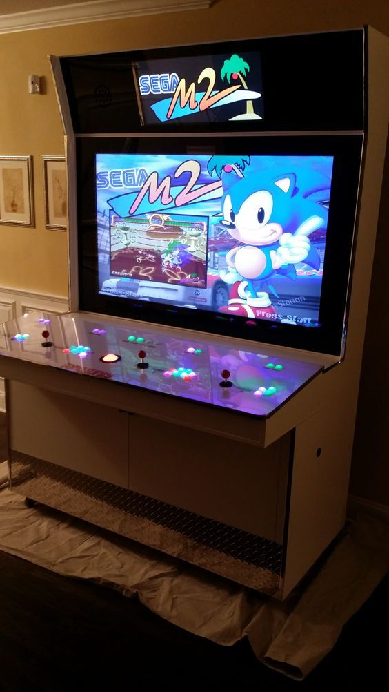 My Latest Creation The Custom Gamejunky Arcade Cabinet
