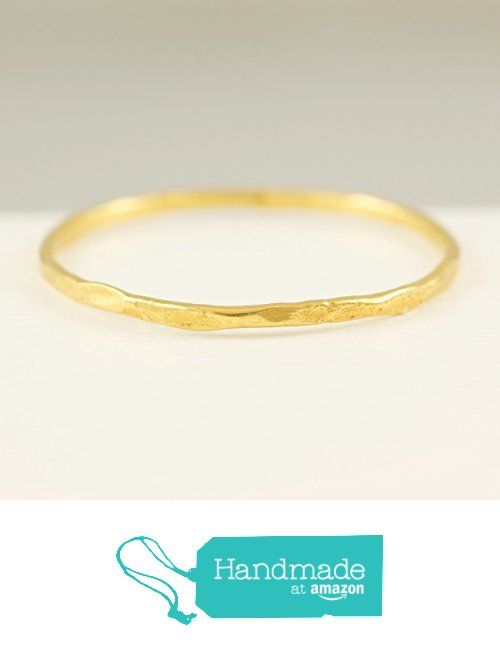 Skinny 14K solid gold bands, hammered stacking gold ring, AR098 from Kyklos Jewelry Lab http://www.amazon.com/dp/B01E5R700Q/ref=hnd_sw_r_pi_dp_HVXoxb1RG0CQ8 #handmadeatamazon