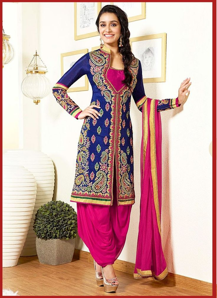 New Patiala Salwar Kameez Designs For Pakistanis #PatialaSalwarCutting #DesignsSalwarSuits