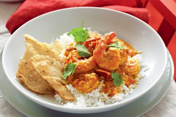 Coconut Prawn Korma Recipe Here: http://www.delicious.com.au/recipes/coconut-prawn-korma/6d986828-4b1b-46ee-bcf7-77c50d471370?current_section=recipes&adkit_ref=/recipes/group/cuisines/52d66ccf-4624-4015-889e-df33d91ffe9b