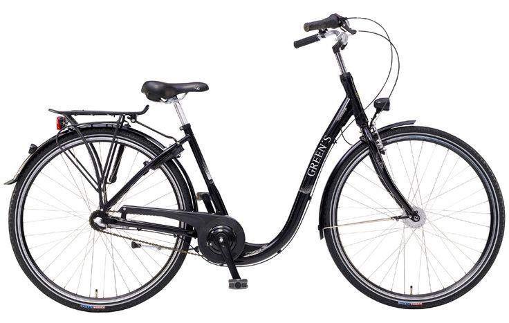 #Greens #City #Edinburgh #women #black #Shimano #3 #Gang #Nabenschaltung #Fahrrad #10Lux #Beleuchtung #Rücktritt #Aluminium #Rahmen #28Zoll #Halogen #Scheinwerfer #Standrücklicht #Citybereifung mit #Reflexring #Aluminium #V-Brakes #Preis ab 479,95€ mehr auf www.greens-bikes.de oder Ihrem #Händler