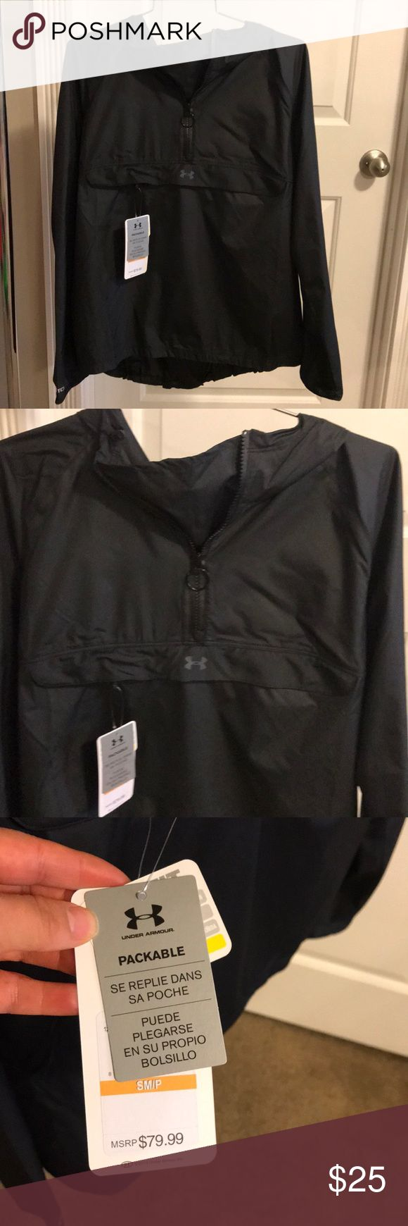 Women's Under Armour raincoat!! Women's Under Armour raincoat!!! Brand New!!!💕 Under Armour Jackets & Coats