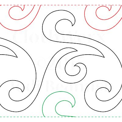 61 Best Images About Quilting Continuous Line Patterns On