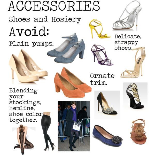 """Flamboyant Gamine (FG) Accessories - Shoes and Hosiery to avoid"" by lightspring on Polyvore"