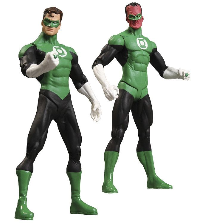Green Lantern Rebirth Collectors Figure Set Green Lantern & Sinestro