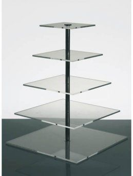 Our new cupcakestand, we've got 3 of them.  7 tier!