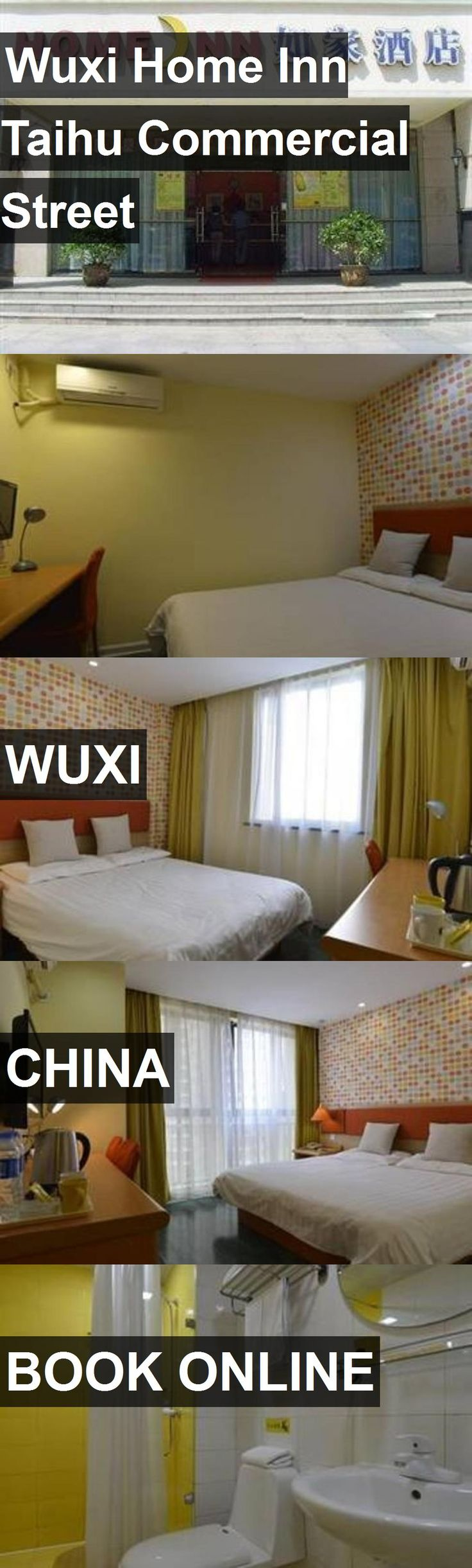 Hotel Wuxi Home Inn Taihu Commercial Street in Wuxi, China. For more information, photos, reviews and best prices please follow the link. #China #Wuxi #travel #vacation #hotel