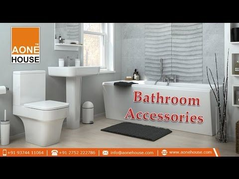 Video about Quality Bathroom Accessories @ www.aonehouse.com. Aone House Sanitary Ware Brands in India Tend to Provide Bathroom Accessories including robe hook, paper holder, soap dish 9″ x 5″, soap dish 8″ x 4″ for Home with Flexible Designs. Branded sanitary accessories and modern bathroom accessories are known for highest quality, style, world class pattern, anti bacterial features, economic flush, etc.
