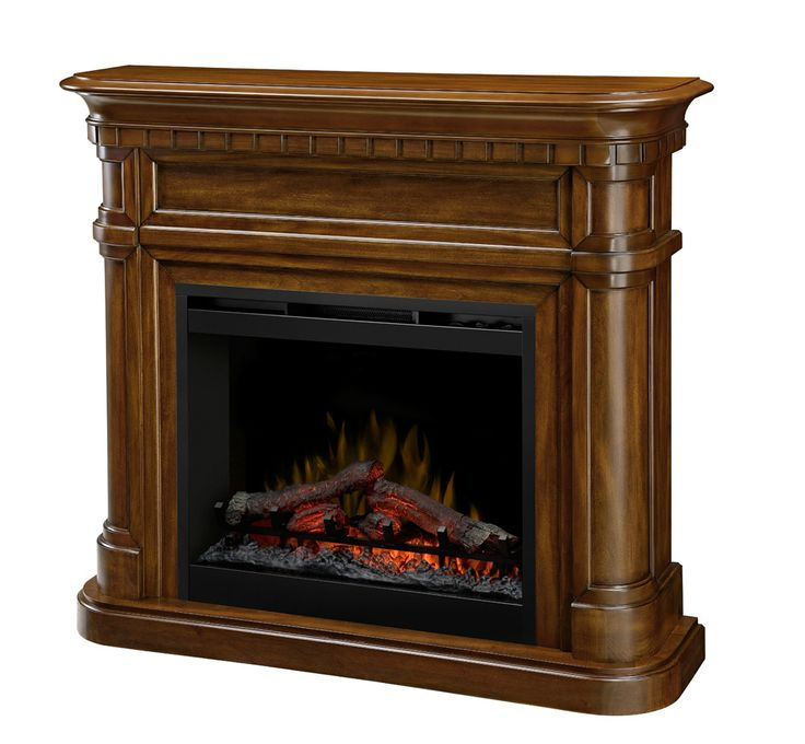 """Dimplex Charleston electric fireplace with 26"""" firebox, $799.00 CAD."""