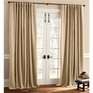 window coverings for back doors | Window treatments for sliding glass doors ideas