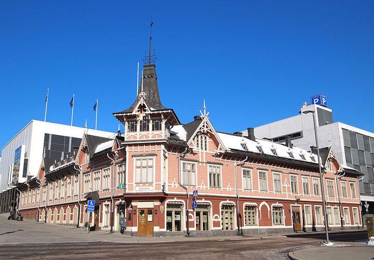 Building Nikolainkulma in Jyväskylä. Nikolainkulma Jyväskylässä.
