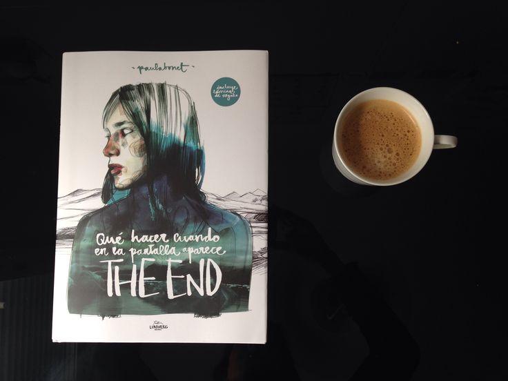 Qué hacer cuando en la pantalla aparece the end de #paulabonet. #PaulaBonetIllustration #coffee