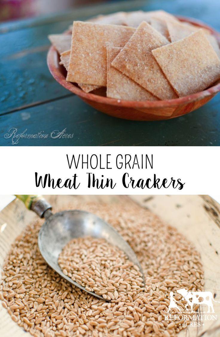 Whole Grain Wheat Thin Crackers