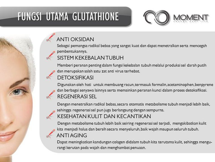 Fungsi utama Glutathione untuk tubuhmu ^^