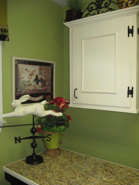 Wonderful A Happy Green Laundry Room