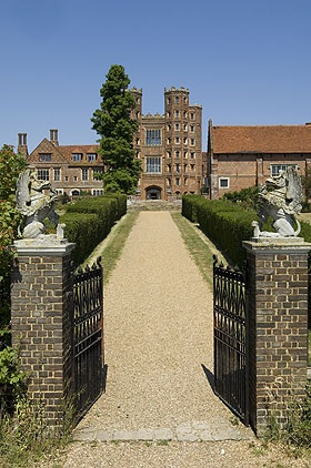 Layer Marney Tower, Essex , UK. The woman in Black.