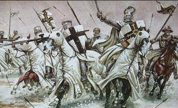 Bitwa pod Grunwaldem 15 lipca 1410 roku - Bractwo Rycerskie Komturii Nidzickiej