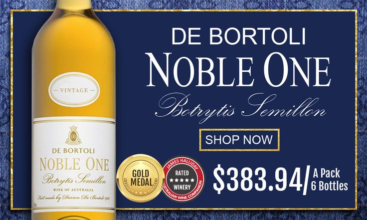 De Bortoli Noble One Botrytis Semillon 2013 Griffith  #debortoli #wine #winelover #semillon