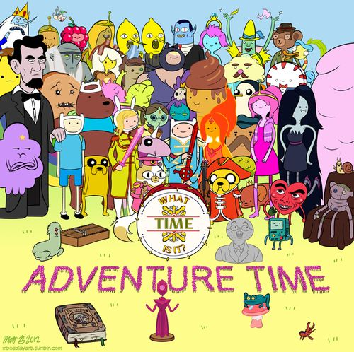 #Fandom mashup: Adventure Time  The Beatles