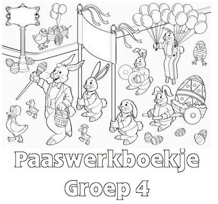 Paaswerkboekje Groep 4 - Klaarwerk.nl