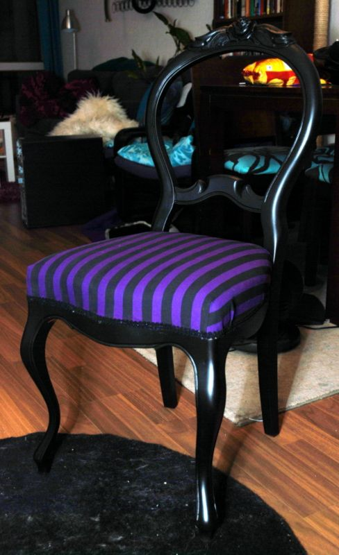This is how I'd like to re-do my old chairs