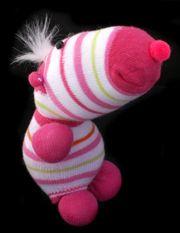 two-socks no sew sock dolls.  might make a horse variation. Still looking for mermaid sock doll pattern.
