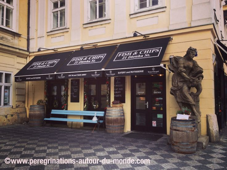 Restaurant Fish ans Chips, rue Dlouha Street (Prague)