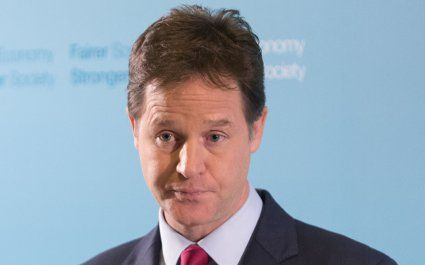 Nick Clegg has made public his Sainsbury's Nectar account in a bid for transparency over his finances.