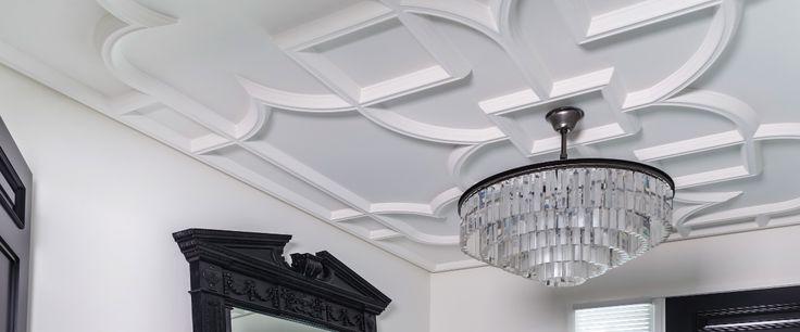 custom designed plaster stucco ceiling Edmonton Alberta Calgary