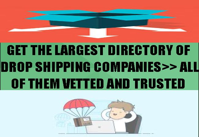 Get Access The Largest Directory Of Vetted Drop Shipping Companies Money Making Opportunities Company Shipping Company