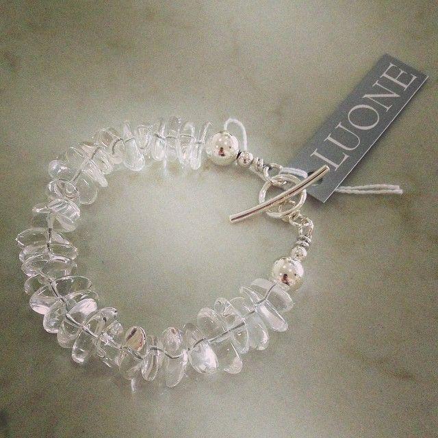 #quartz #bracelet #sterlingsilver #portfairy #portfairyjeweller #luone @luonejewellery #lovequartz