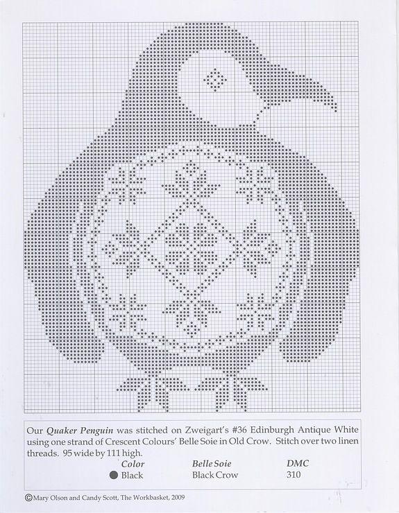 quaker pingouin