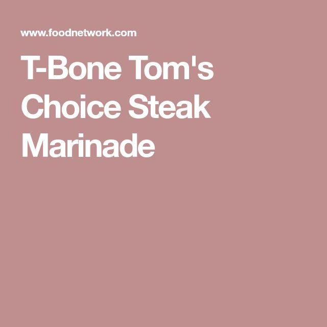 T-Bone Tom's Choice Steak Marinade