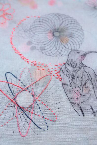 Sophie MORILLE Designer textile/ Artiste Plasticienne: dessins