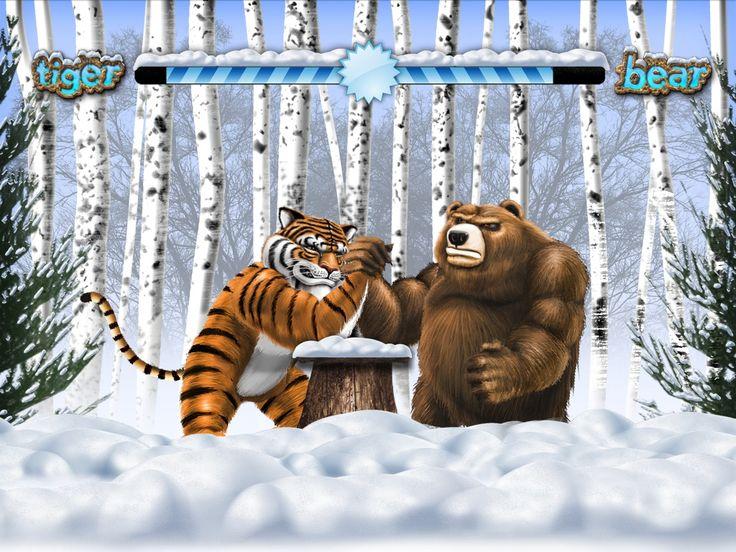 Tiger vs Bear Siberian video slot  - http://www.royalvegascasino.com/casino-games/