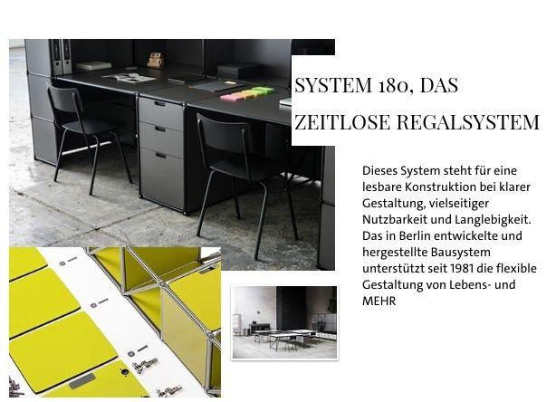 System 180, das zeitlose Regalsystem