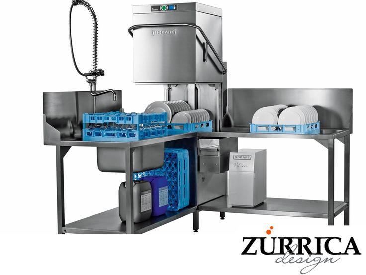 https://flic.kr/p/Wim7Ca   En ZURRICA DESIGN ponemos a su disposición lavavajillas de la marca Hobart  3   LAS MEJORES COCINAS INDUSTRIALES. Los lavavajillas son de gran utilidad dentro de la industria de alimentos. De acuerdo con el tipo de negocio que desee emprender, serán las características del equipo a montar. En Zurrica Design, ponemos a su disposición equipos de lava loza en acero inoxidable de la marca Hobart para facilitar el trabajo y hacer rendir su inversión. Le invitamos a…