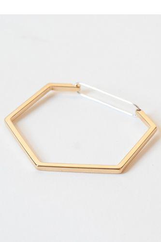 The Boyscouts Seize Hexagon bracelet - Metallic WSy1km