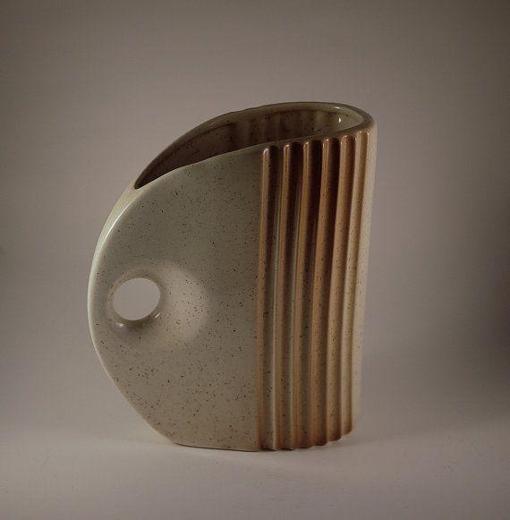 // Vintage 1980's ceramic pitcher.